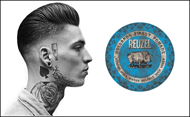 Reuzel Blue Piglet - High Sheen Strong Hold