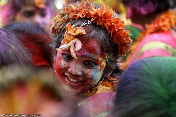 Holi, The Celebration of Bright Colors