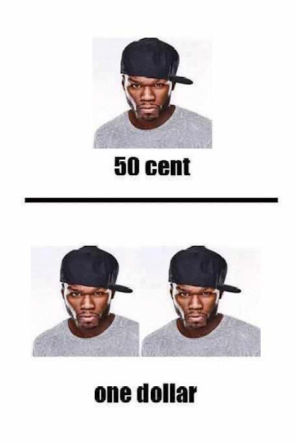 Meme - 50 centavos de dólar