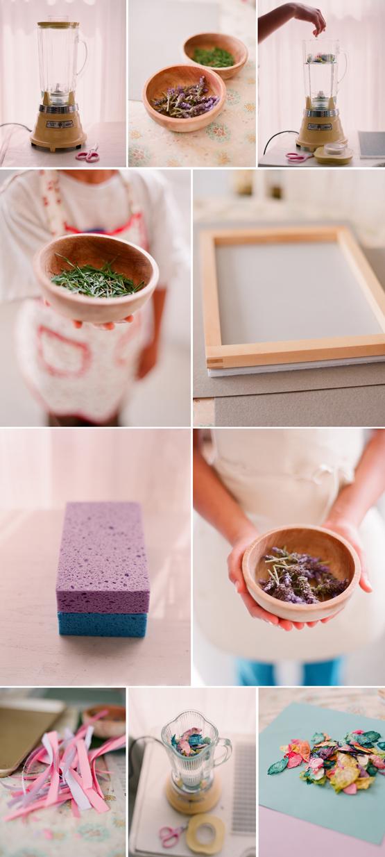 La silla turquesa tutorial reciclando papel for Handmade paper craft ideas