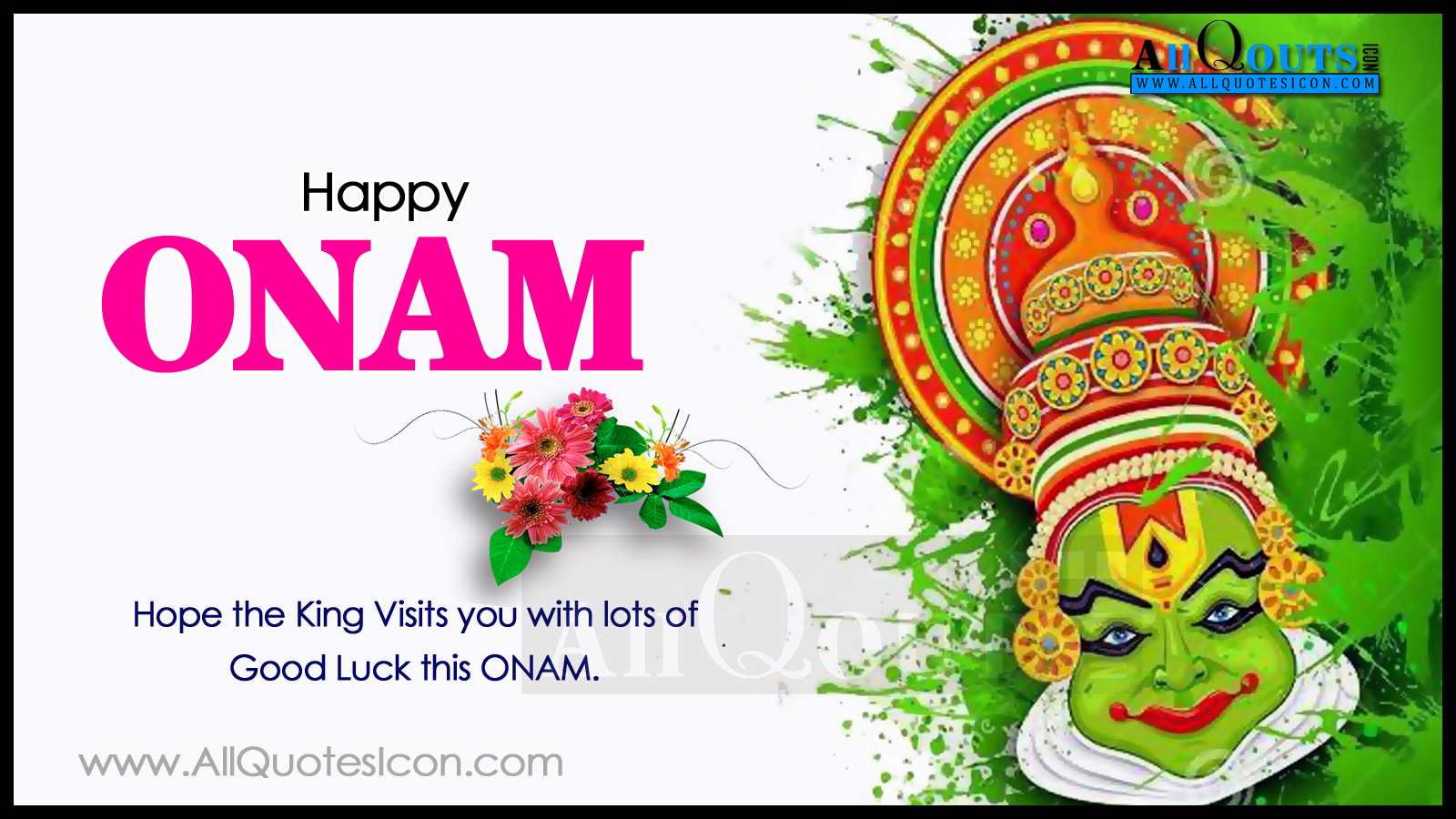 Onam Festival Greetings English Quotes Hd Wallpapers Onam Festival
