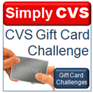 Simply CVS Gift Card Challenge