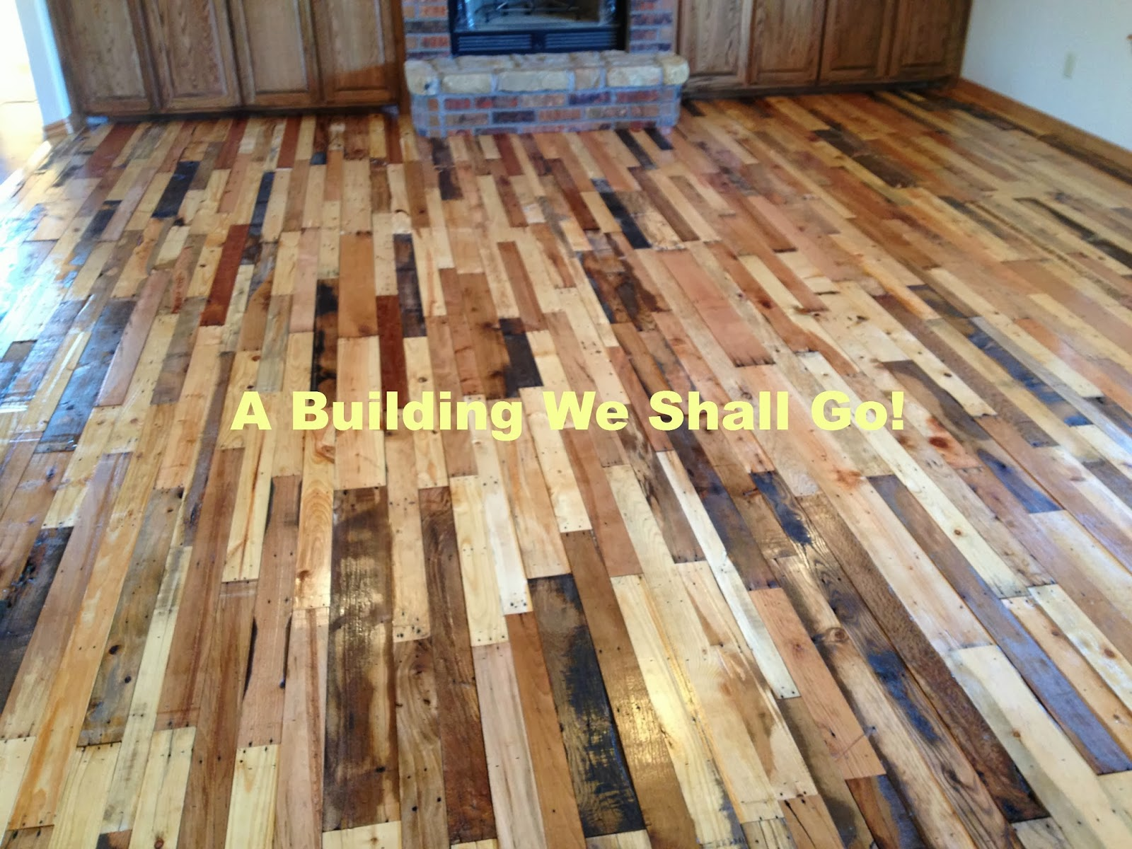 A building we shall go the art of pallet wood flooring the art of pallet wood flooring solutioingenieria Image collections