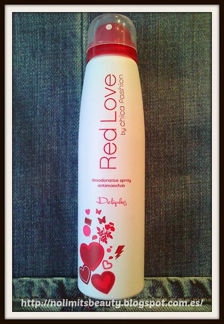 Desodorante Red Love by Chica Fashion de Deliplús