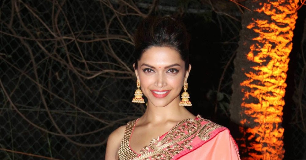 Deepika Padukone in pink saree At Ahana Deol's Wedding ...