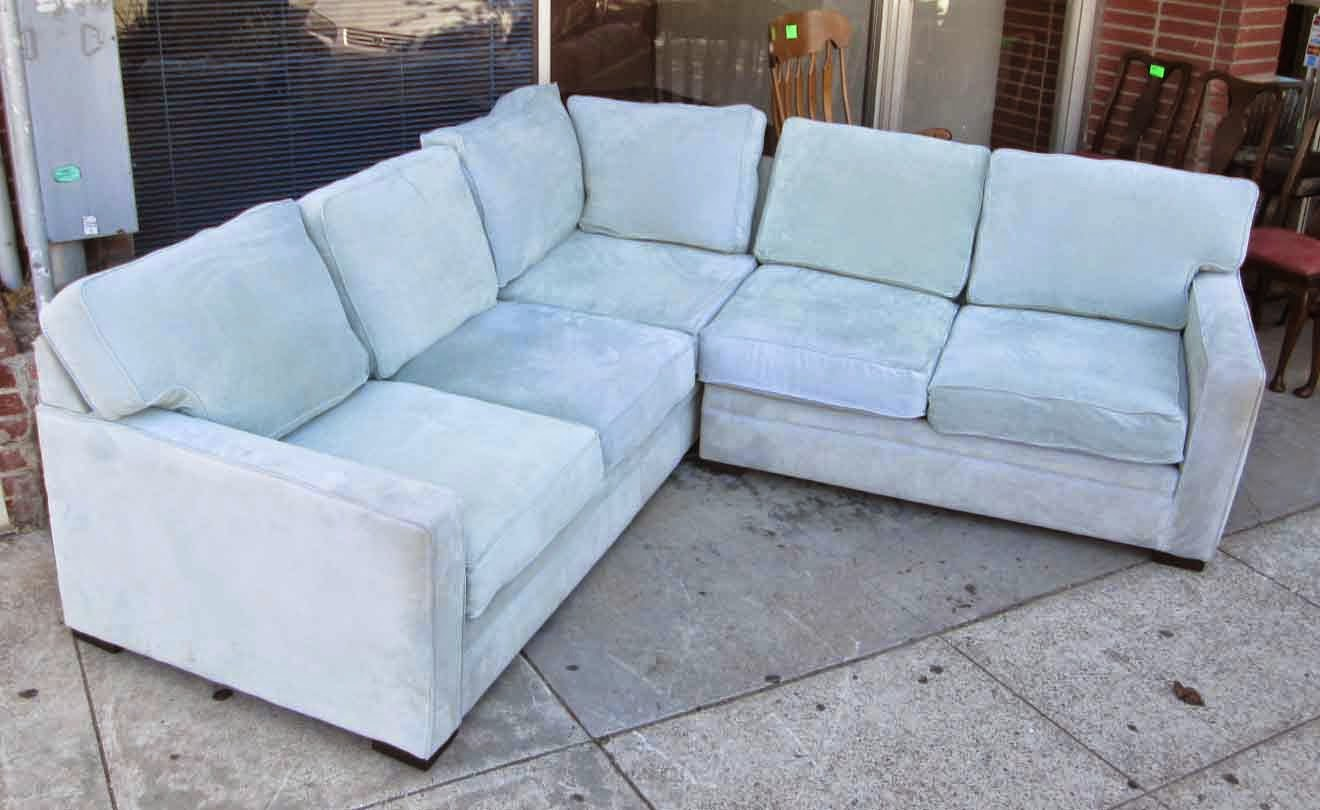 Baby Blue Sofa : ... COLLECTIBLES: SOLD Baby Blue Sectional Sofa, Only One Year Old! $225