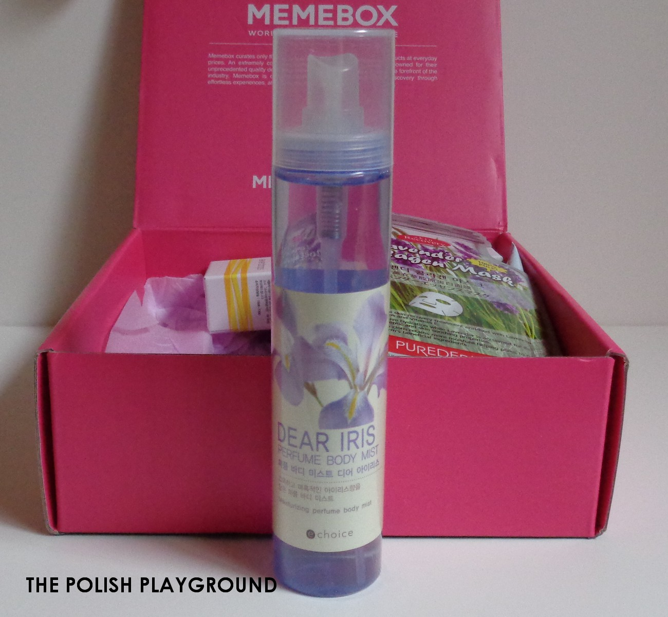 Memebox Seeds & Flowers Unboxing - ECHOICE Perfume Body Mist Dear Iris