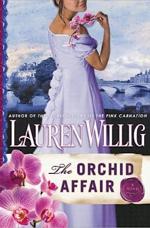 Book review of The Orchid Affair by Lauren Willig (The Pink Carnation spy series)