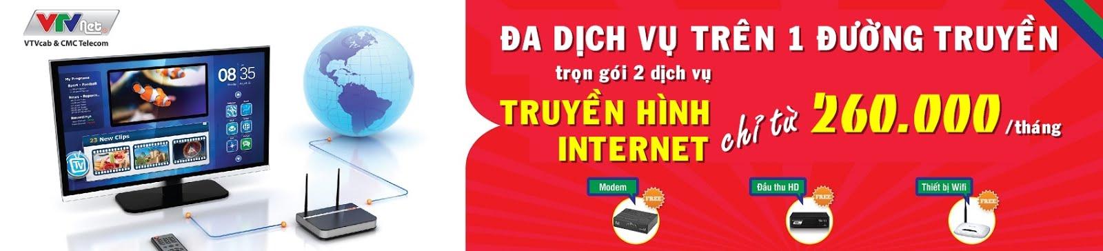 Dịch vụ Internet của VTV tại TP.HCM - VTVNet