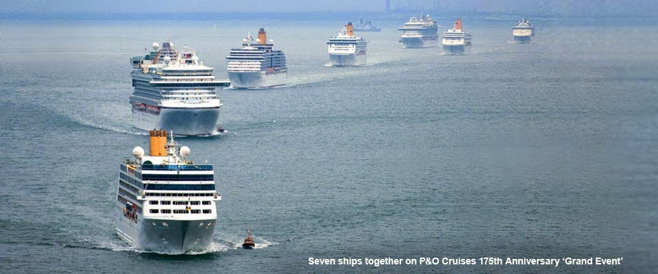 P&O Cruises in Facebook