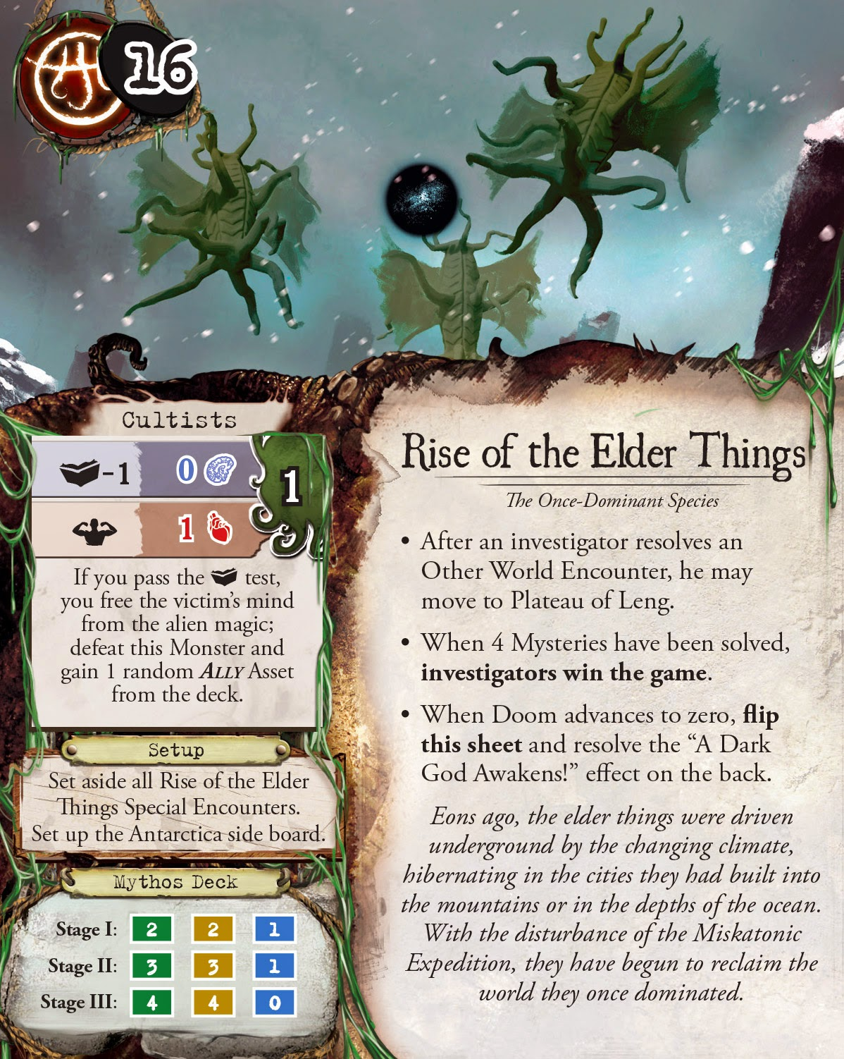 Mountains of Madness rise of the elder things