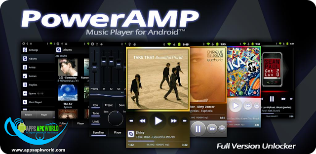 Poweramp Music Player v2.0.10 Build 580 Patched APK image