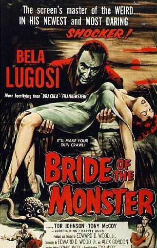 Bride of the Monster Vintage Movie Poster