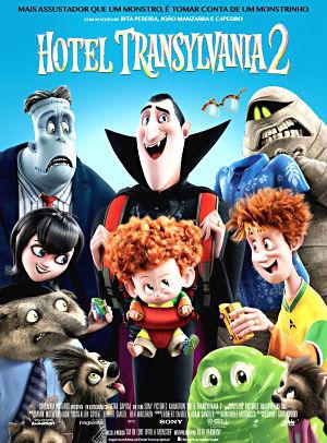 Filme Poster Hotel Transilvânia 2 HDTS XviD & RMVB Dublado