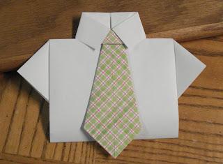 Oragami Shirt & Tie