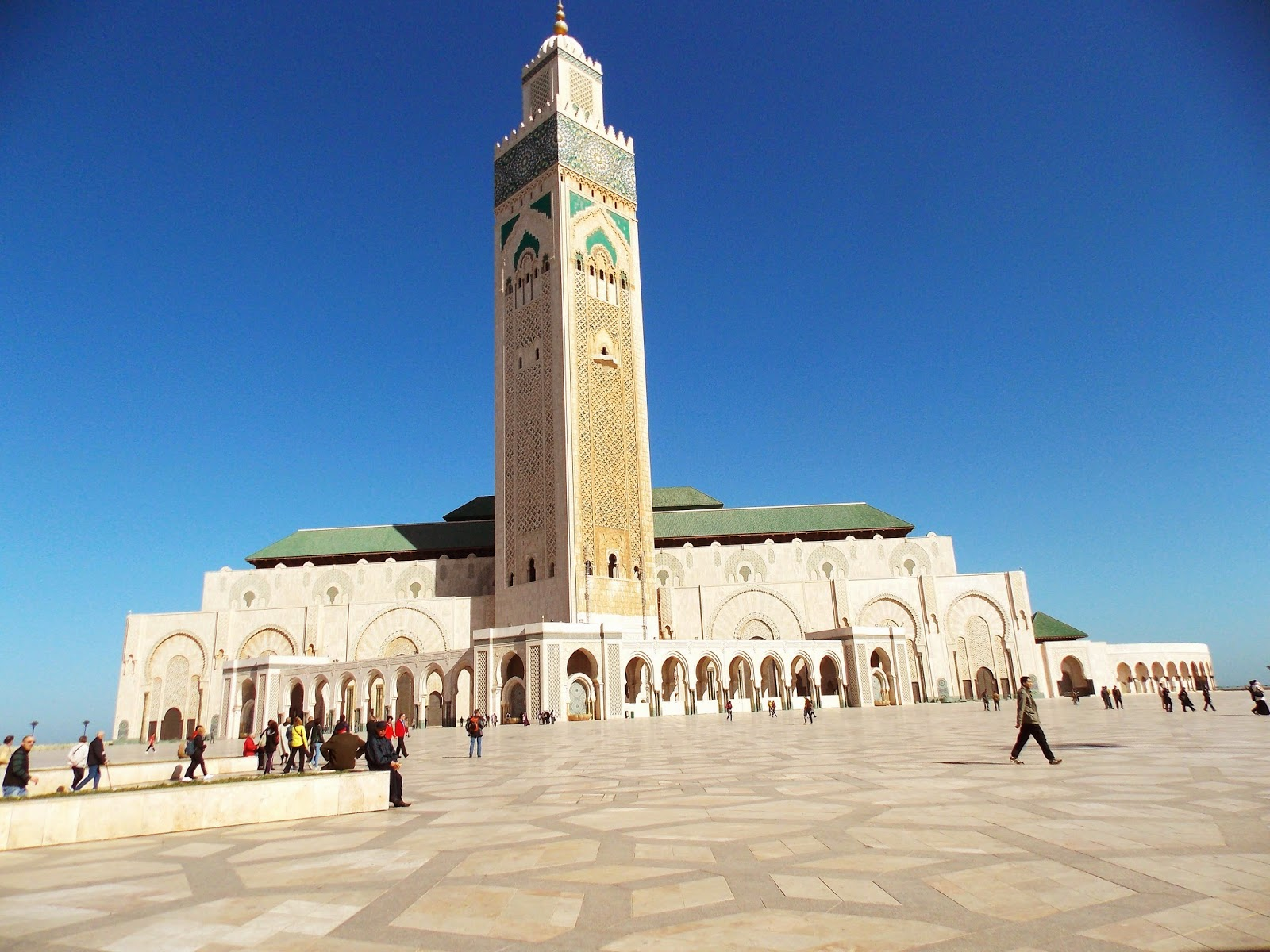 Morocco, Casablanca, Hassan II mosque, The Grand Mosque of Hassan II, Where to go in Morocco, Travel, Holiday