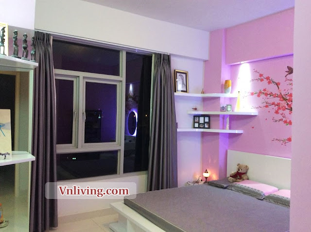 Parcspring apartment for rent 2 bedrooms furnished in District 2
