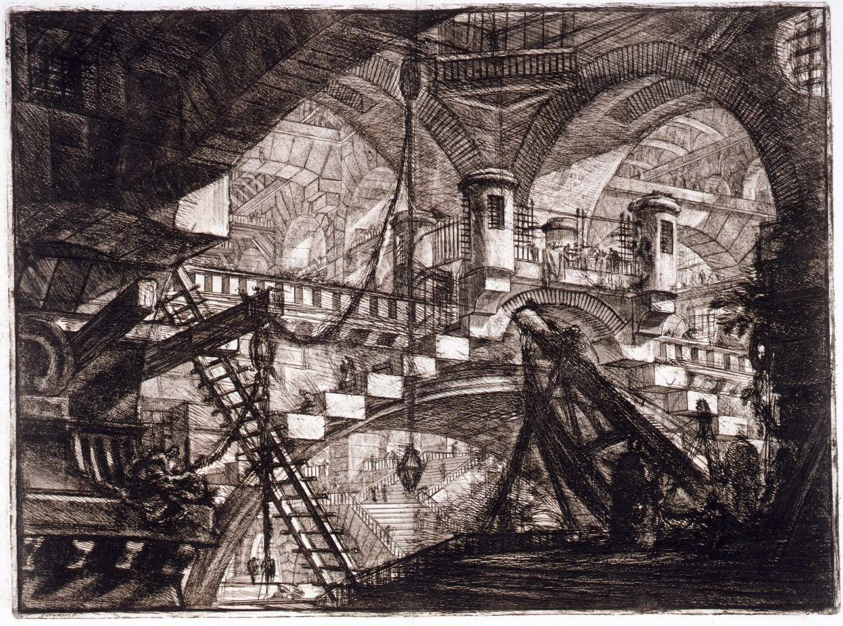 Muddy colors artist of the month piranesi for The giovanni