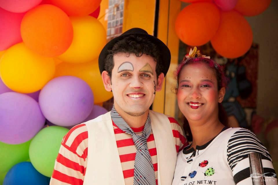 Virgilio Souza e Elaine Vilela