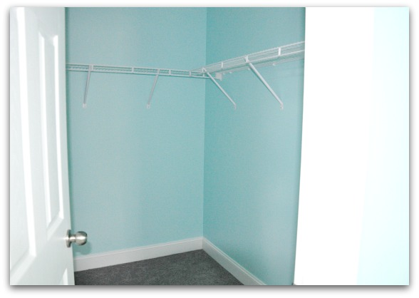 master closet tiffany box blue teal makeover