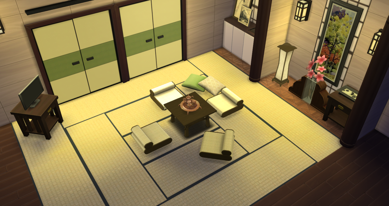 my sims 4 blog shoji fusuma wood doors by fayesta