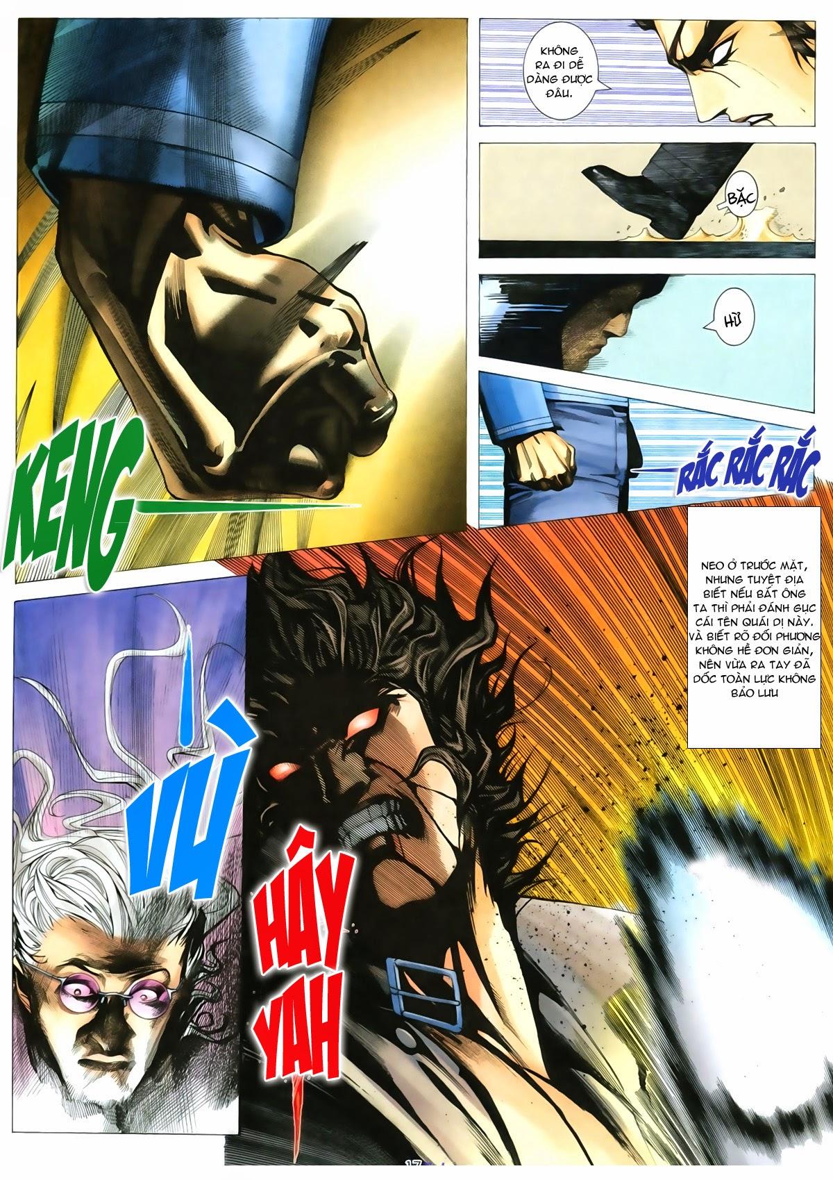 Tuyệt Địa Thiên Hành chap 8 Trang 17 - Mangak.info