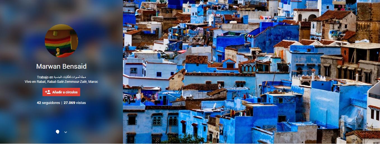 Marwan Bensaid Trabajo en مجلة أصوات للأقليات الجنسية Vivo en Rabat, Rabat-Salé-Zemmour-Zaër, Maro