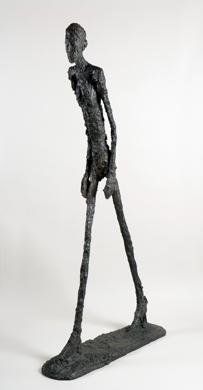Alberto Giacometti, Walking Man I., 1961