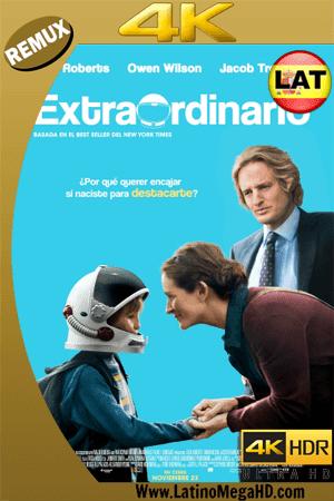 Extraordinario (2017) Latino Ultra HD 4K BDREMUX 2160P ()