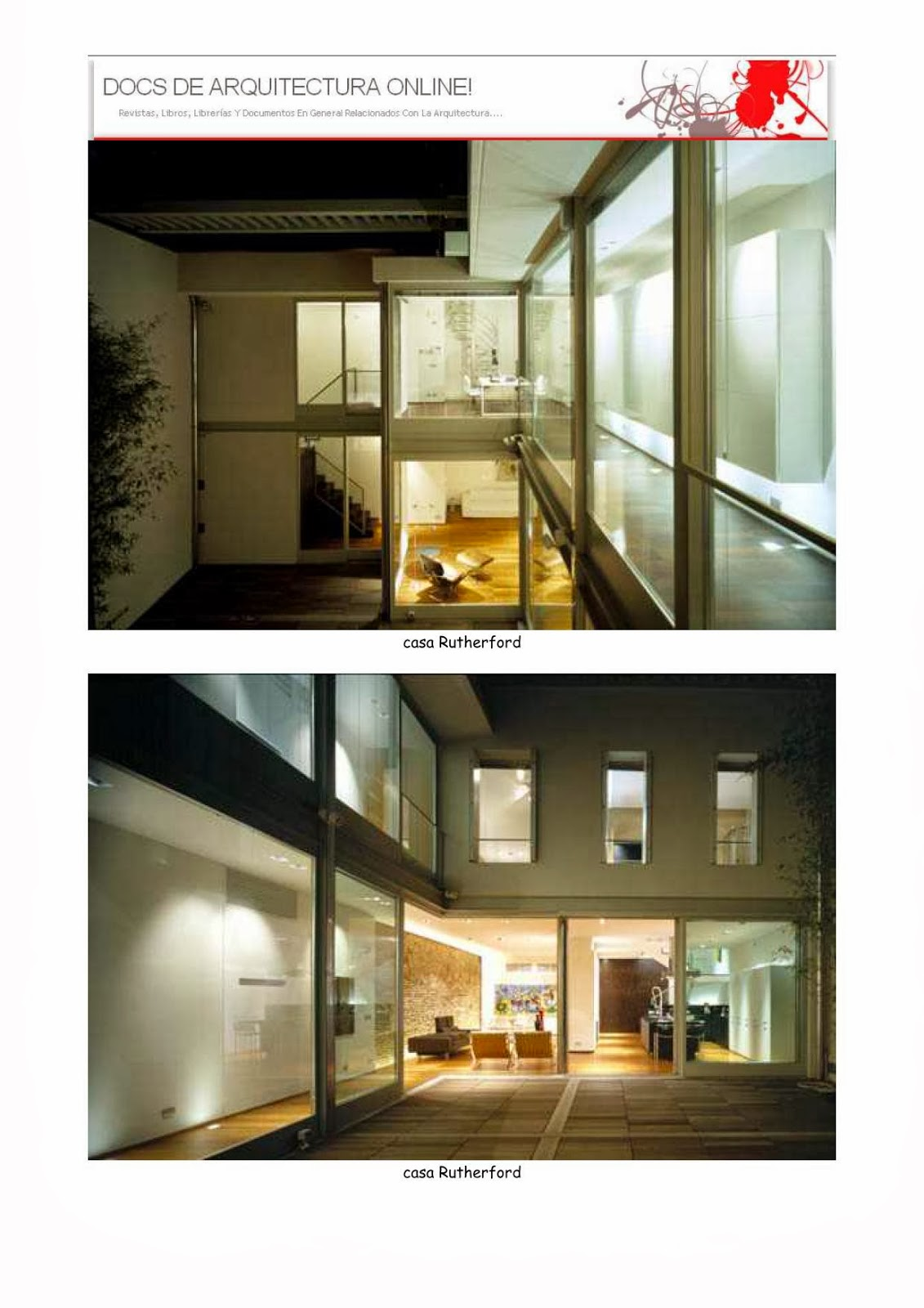 Architecture library due ville urbane e una galleria d for Smr landscape architects
