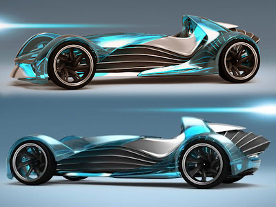 sport car racing in 2030 project by marco sweston touch effect motorsports mercedes benz w25 inpired car - Sports Cars 2030