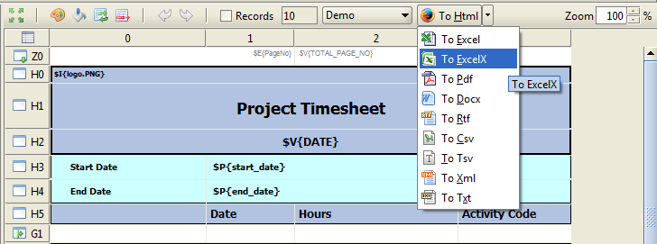 Excel Template File Extension