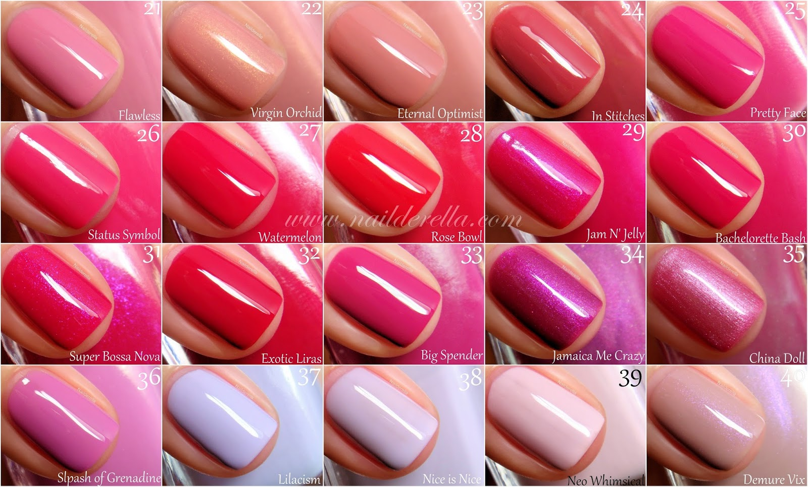 Essie Color Guide 1 100