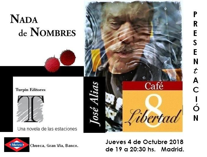PRESENTACIÓN LIBRO MADRID