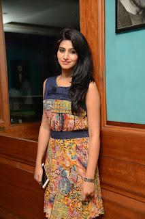 Shamili looks cute and innocent in Short Dress at Best Actors Team Event