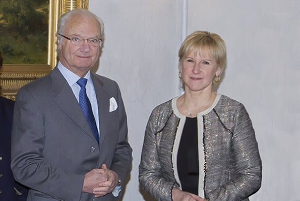 Swedish Royal Family's Meeting With Margot Wallström At The Royal Palace Of Stockholm