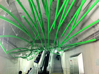 Iidabashi Station, Tokyo Oedo Line