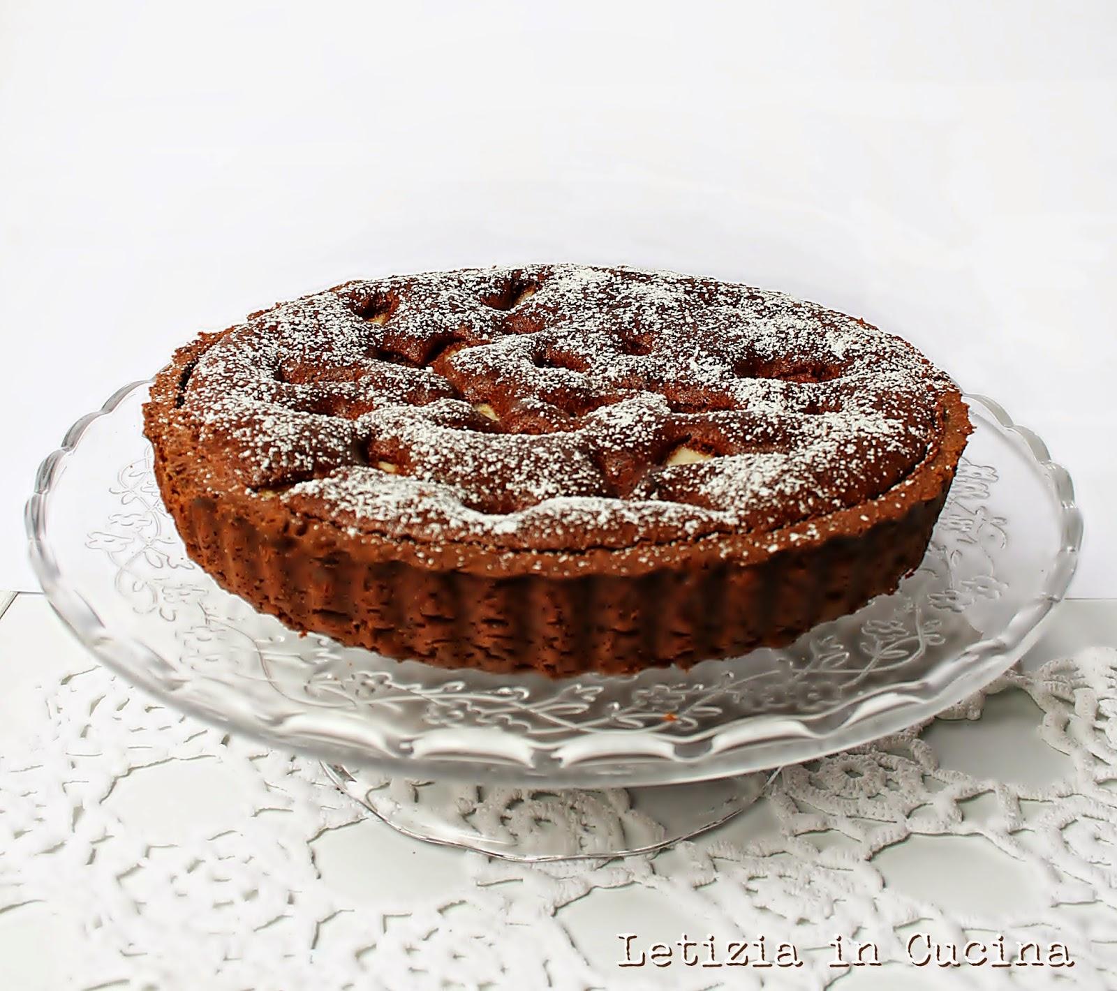 Letizia in Cucina: Dolce in Crostata Pere e Cioccolato