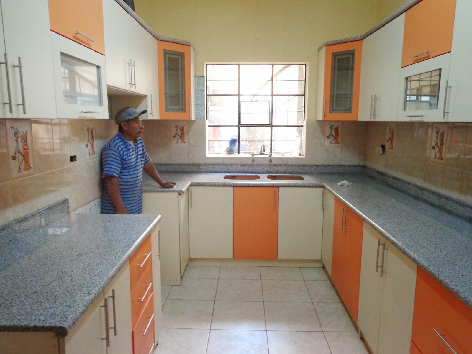 Encimeras de marmol para cocinas las cocinas realizadas for Encimeras de marmol