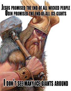 Odin promised the end of ice-giants!