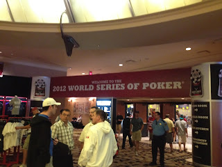 Entrance to the WSOP
