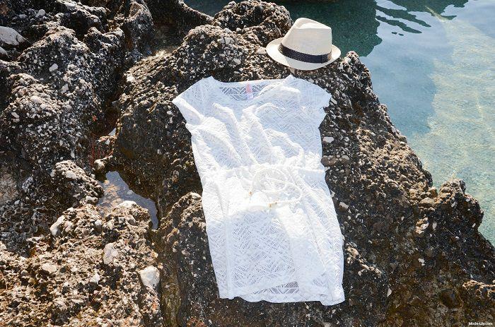 Make a Splash: The Pastel Blue Beachwear