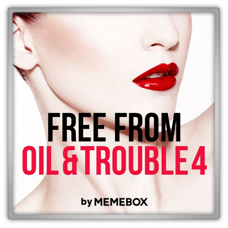 Memebox Superbox #55 Free From Oil & Trouble 4 미미박스 Commercial