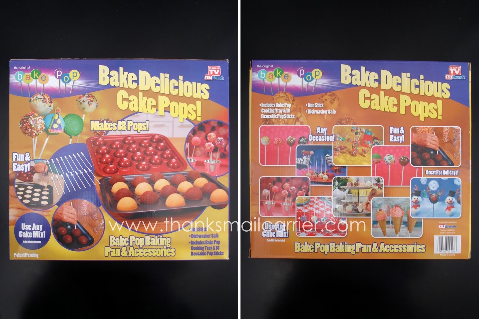 Thanks Mail Carrier Holiday Gift Guide Bake Pop Cake