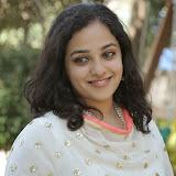 Nitya meenon Latest Photo Gallery in Salwar Kameez at New Movie Opening 25
