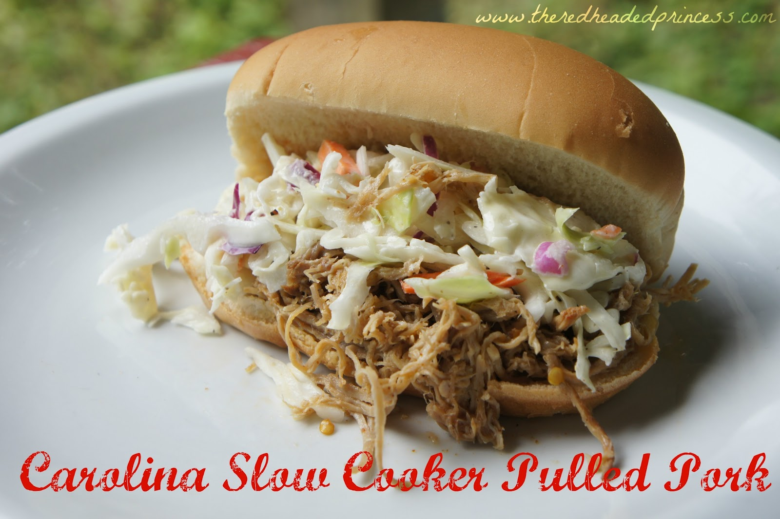 Carolina Slow-Cooker Pulled Pork