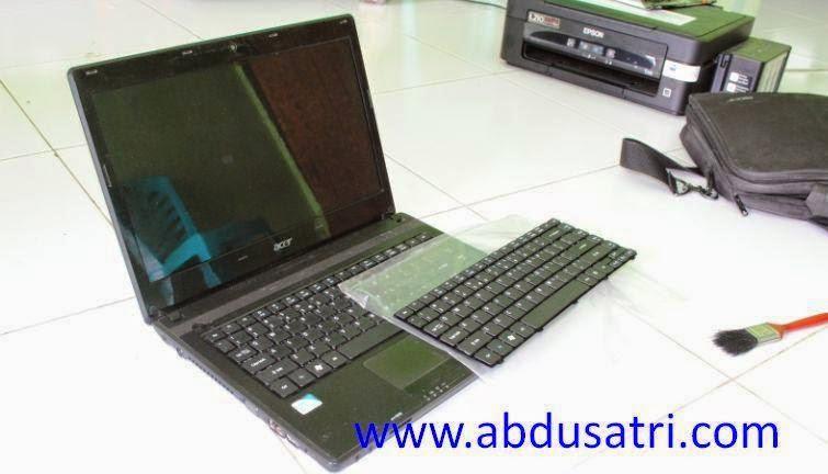 cara mudah cara ganti keyboard laptop