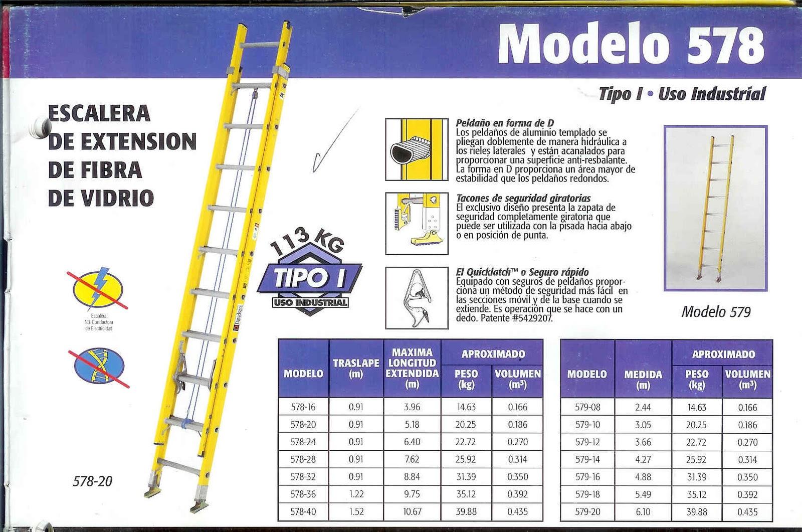 Escaleras peru escalera extensible fibra de vidrio - Escalera fibra de vidrio ...