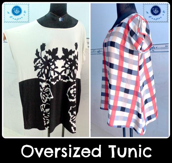 plus sized tunic free sewing pattern