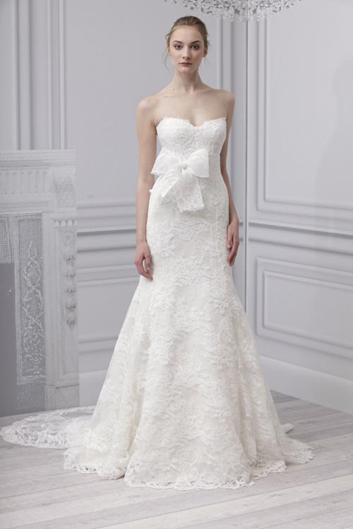 váy cưới ren 2012